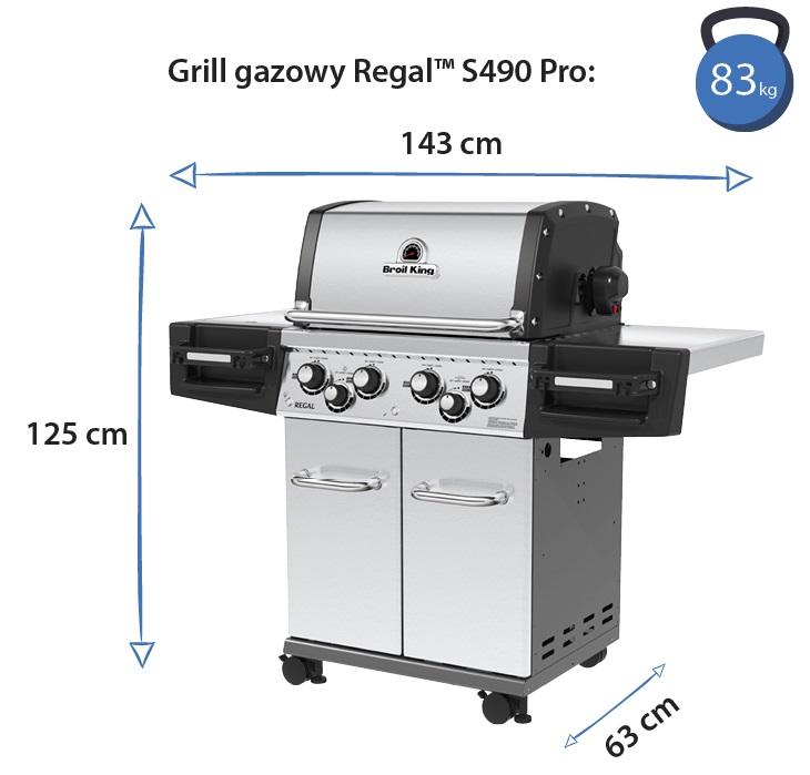 Grill gazowy • Regal S490