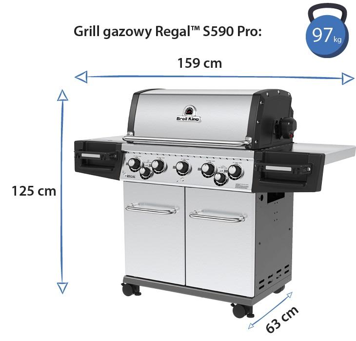 Grill gazowy • Regal S590 Pro