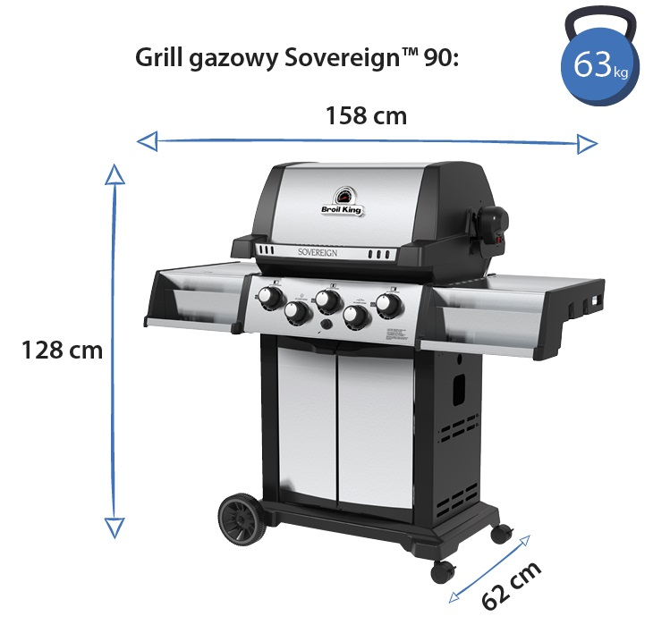 Grill gazowy • Sovereign 90