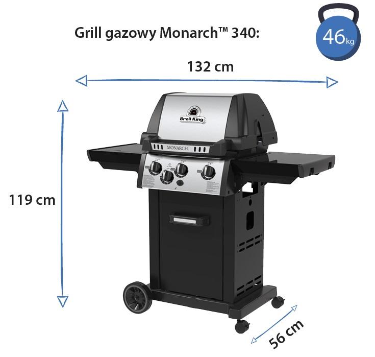Grill gazowy • Monarch 340
