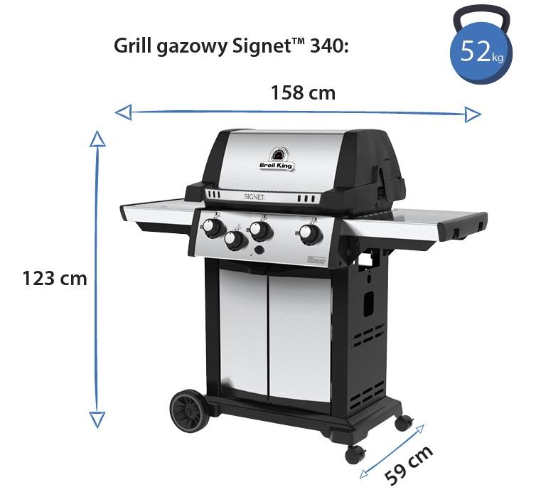 Grill gazowy • Signet 340 • Model 2018