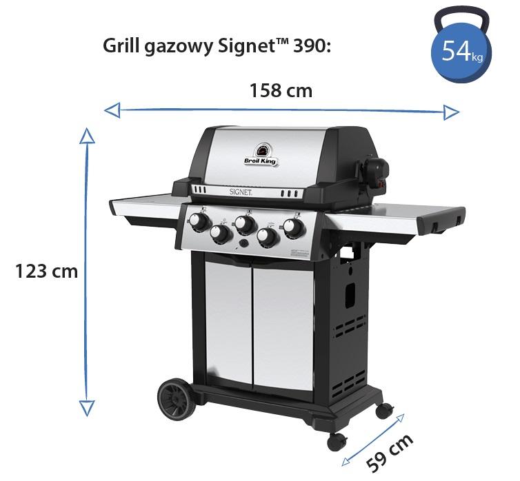 Grill gazowy • Signet 390