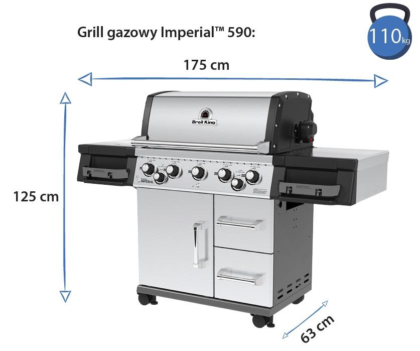 Grill gazowy • Imperial 590
