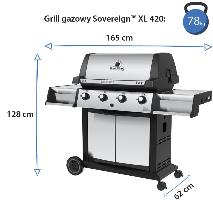 Grill gazowy • Sovereign XL 420